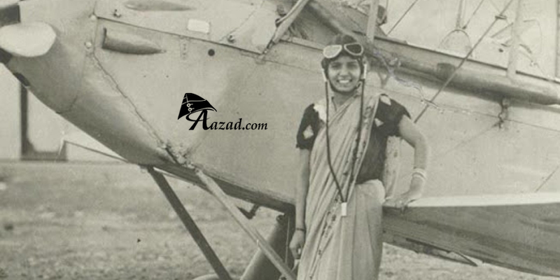 Sarla Thakral First Indian Woman Female Pilot License CPL