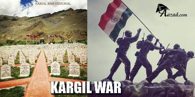 INDIA DEFEATED PAKISTANI ARMY AND PAKISTANI TERRORISTS IN A LIMITED CONVENTIONL WAR AT KARGIL IN 1999