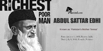 Abdul Sattar Edhi: Pakistan's Mother Teresa