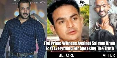 Ranvindra Patil, the prime witness agaonst Salman Khan who was tortured to death