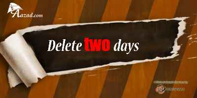 Delete two days